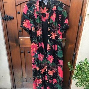 Beautiful Carole Little dress. Includes slip.